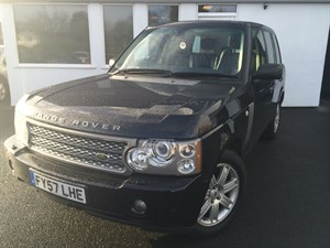used Land Rover Range Rover TDV8 VOGUE**Sat/Nav-Blue Leather-Massive Spec incl Heated steering wheel!** in cheshire