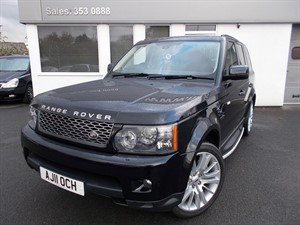 used Land Rover Range Rover Sport TDV6 HSE in cheshire