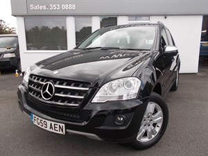 used Mercedes ML350 CDI BLUEEFFICIENCY SE in cheshire