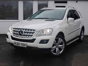 used Mercedes ML350 CDI BLUEEFFICIENCY SPORT in cheshire