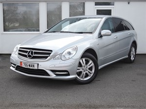 used Mercedes R350 R350 CDI 4 MATIC Grand Edition LWB **Leather/Sat Nav** in cheshire