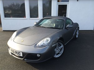 used Porsche Cayman 24V **Gen 2**Black Leather** in cheshire