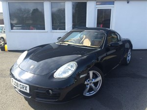 used Porsche Cayman 24V *Sand Beige Trim + Cayman S Alloys* in cheshire