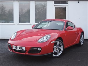 used Porsche Cayman 24V Gen 2  Black Leather, 1 Owner - Finance packages available: HP, PCP et in cheshire