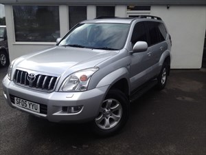 used Toyota Land Cruiser LC4 8-SEATS D-4D *CHEAP ROAD TAX YEAR* in cheshire