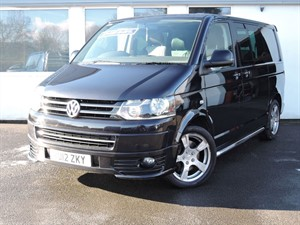 used VW Transporter T32 TDI 180 Bi Turbo SPORTLINE COMBI in cheshire