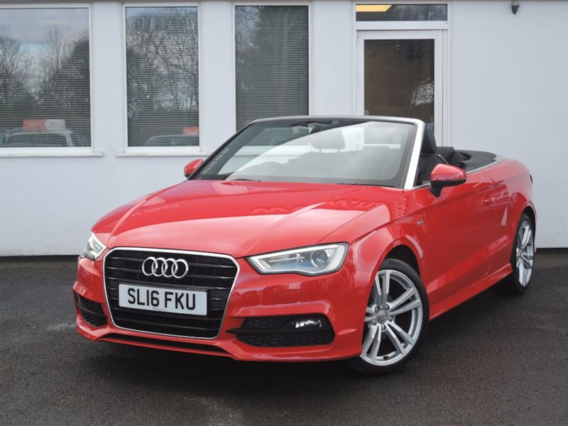 used Audi A3 TFSI S LINE SAT NAV *Heated Seats* in WIRRAL