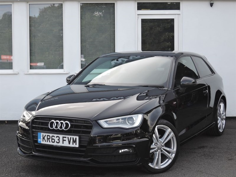"""used Audi A3 TDI S LINE**Half Leather/""""20.00 RFL*** in cheshire"""