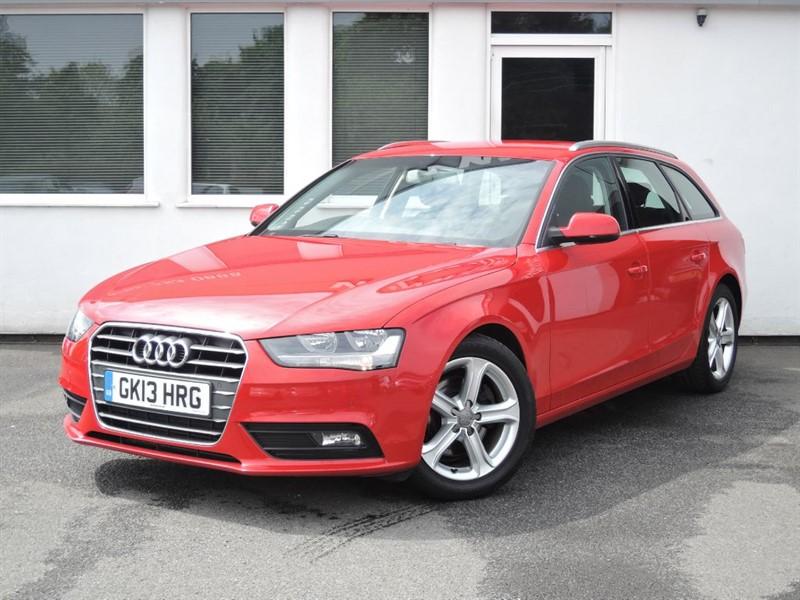 used Audi A4 Avant TDI SE TECHNIK**Sat/Nav-Black Leather-£30.00 RFL**** in cheshire