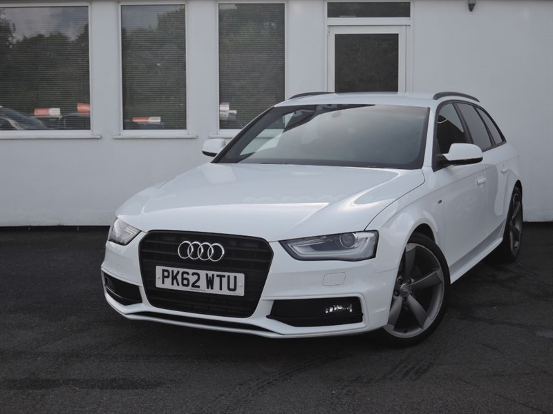 used Audi A4 Avant TDI S LINE BLACK EDITION in cheshire