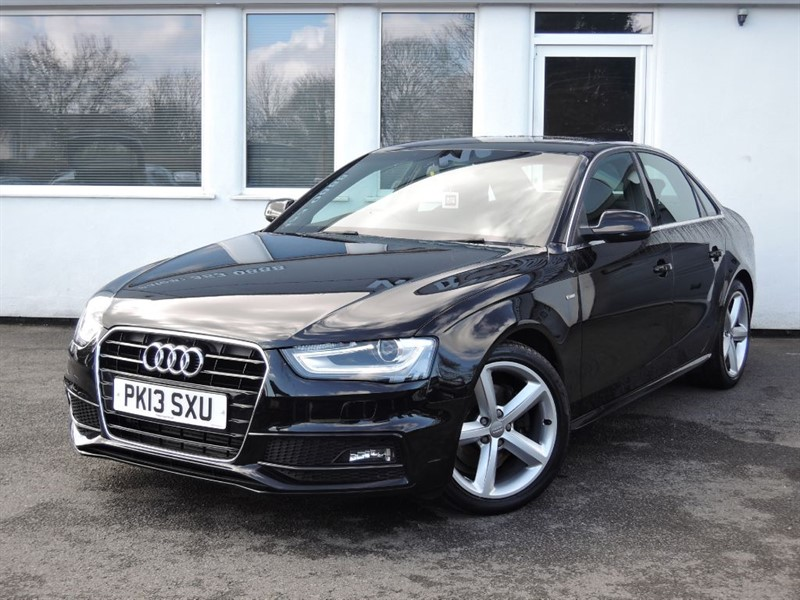 used Audi A4 TDI S LINE *£30 Road Tax* in cheshire
