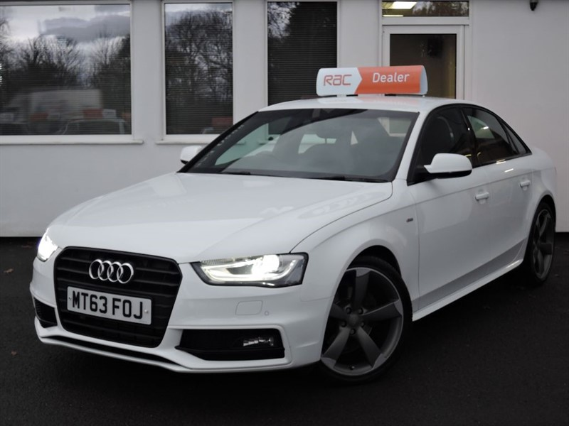 used Audi A4 TDI S LINE BLACK EDITION in cheshire