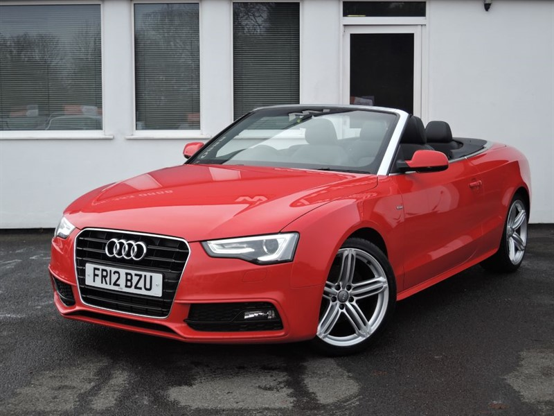 used Audi A5 TDI S LINE S/S 170 BHP *Black Leather* in cheshire