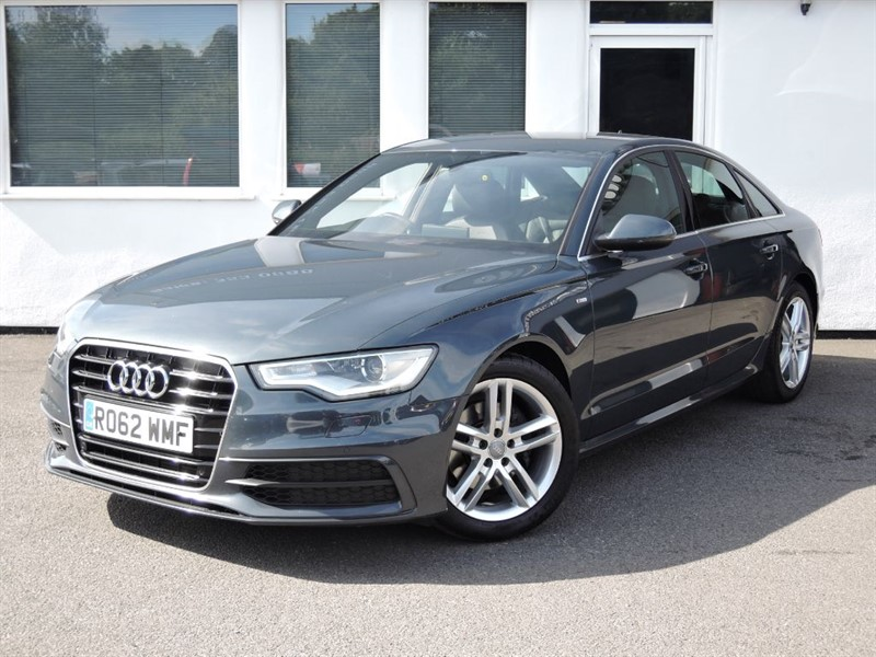 used Audi A6 TDI S LINE in cheshire
