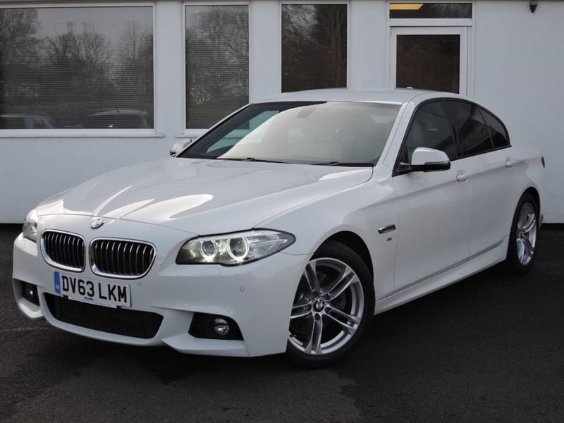used BMW 520d M SPORT in WIRRAL