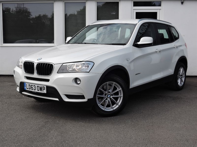 used BMW X3 SDRIVE18D SE *Full Black Leather* in cheshire