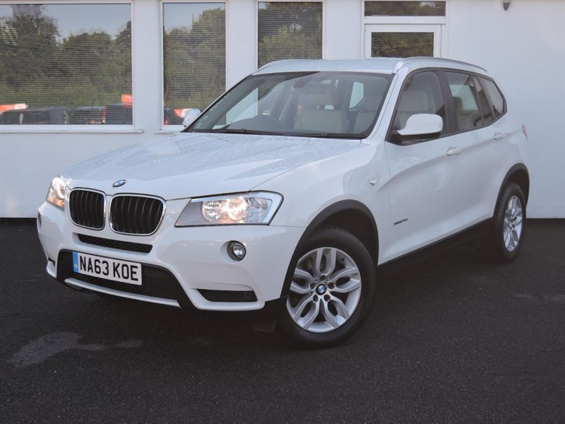 used BMW X3 XDRIVE20D SE in cheshire