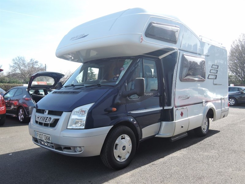 used Hymer  C512CL 4 Berth in WIRRAL