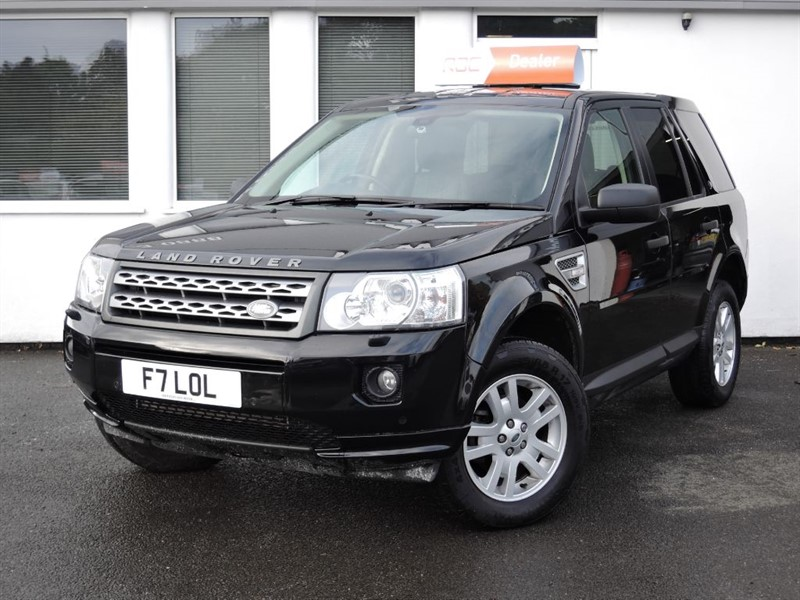 used Land Rover Freelander TD4 XS *Black Leather* in cheshire