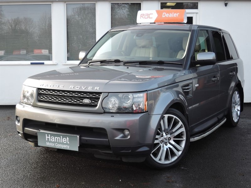 used Land Rover Range Rover Sport TDV6 HSE *Nav+Privacy+S.Steps+DAB* in WIRRAL