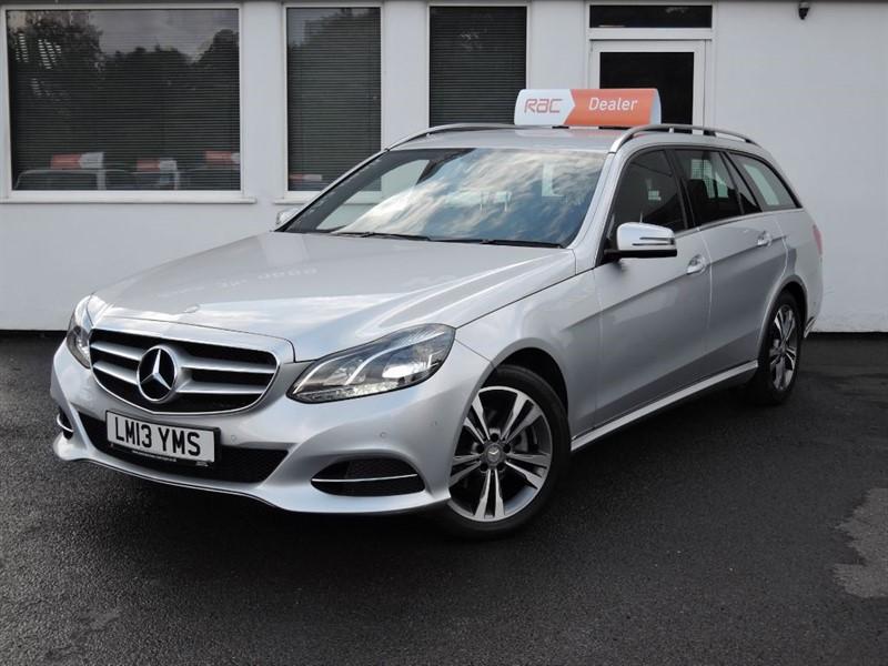 used Mercedes E220 CDI SE *NEW SHAPE* in cheshire