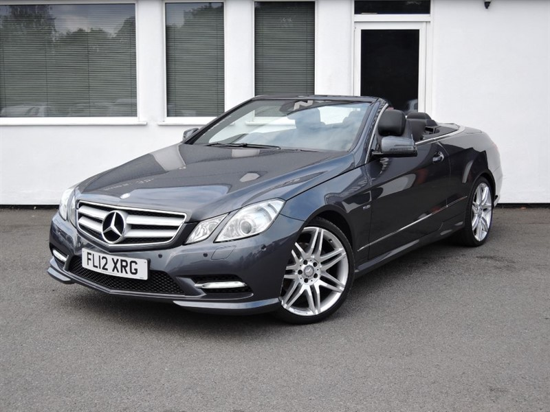 used Mercedes E350 CDI BLUEEFFICIENCY SPORT in cheshire