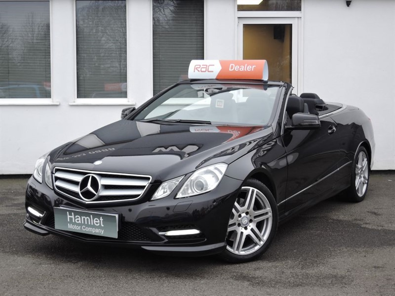 used Mercedes E350 CDI BLUEEFFICIENCY SPORT in WIRRAL