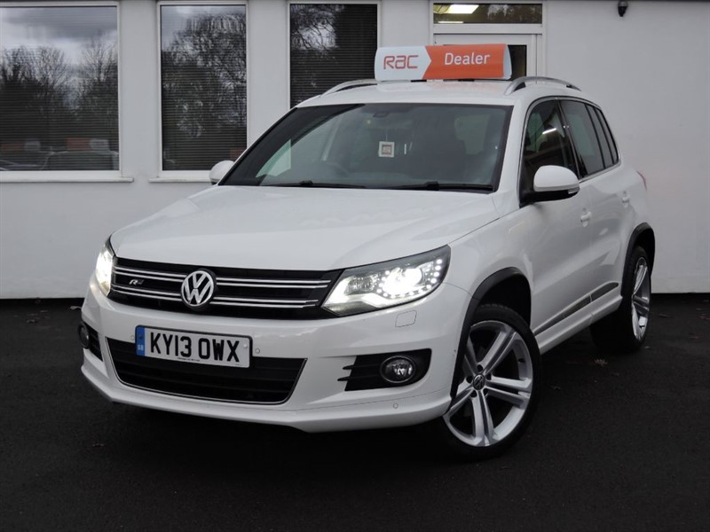 used VW Tiguan R LINE TDI BLUEMOTION TECHNOLOGY 4MOTION in cheshire