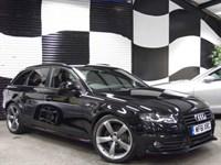 Used Audi A4 Avant 2.0 TDI 136 Black Edition 5dr [Start Stop] (GREAT CAR+FANTASTIC SPEC)