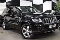 Used Jeep Grand Cherokee CRD V6 Overland Station Wagon 5dr