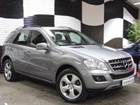 Used Mercedes ML350 M CLASS CDi BlueEFFICIENCY [231] SE 5dr Tip Auto