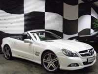 Used Mercedes SL350 SL CLASS 2dr 7G-Tronic (IMPECCABLE EXAMPLE)