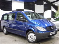 Used Mercedes Vito 111 CDI AUTO TRAVELINER LWB (WHEELCHAIR LIFT)