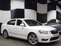 Used Skoda Octavia 2.0T FSI vRS 5dr (FULL LEATHER+SAT NAV+HUGE SPEC)
