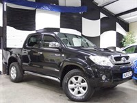 Used Toyota Hilux INVINCIBLE 4X4 3.0 D-4D DCB [LEATHER]