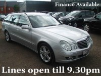 Used Mercedes E200 KOMPRESSOR AVANTGARDE