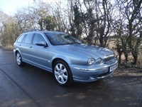 Used Jaguar X-Type SE ESTATE+1 OWNER FROM NEW+HEATED+FULL LEATHER