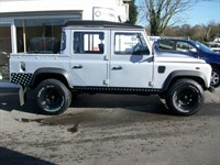 Used Land Rover Defender 110 TDi Pickup 4WD pick up only 19,000 miles