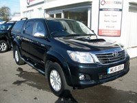 Used Toyota Hilux D-4D Invincible Pickup LEATHER + SAT NAV