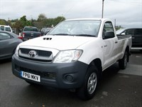 Used Toyota Hilux HL2 Pick Up D-4D 4WD 144 SINGLE CAB