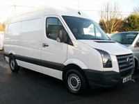 Used VW Crafter TDi CR35 MWB Panel Van HIGH TOP