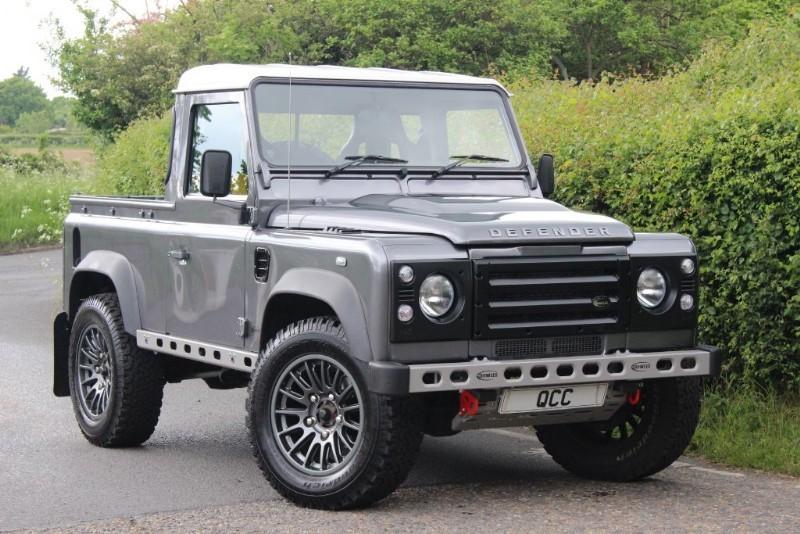 land rover defender 90 td pick up quirks car company. Black Bedroom Furniture Sets. Home Design Ideas