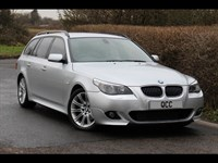 Used BMW 525d 5 Series M Sport TOURING ESTATE SAT NAV