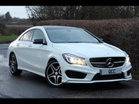 Used Mercedes CLA 220 C Class Cdi AMG SPORT PANORAMIC ROOF