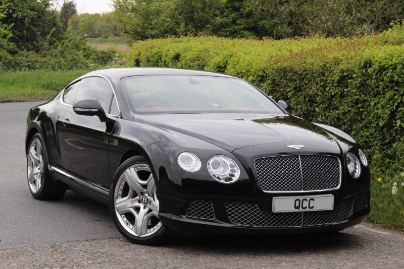 used Bentley Continental GT COUPE MULLINER DRIVING SPEC in essex