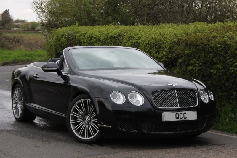 used Bentley Continental GTC SPEED 6.0 W12 CONVERTIBLE in essex-for-sale