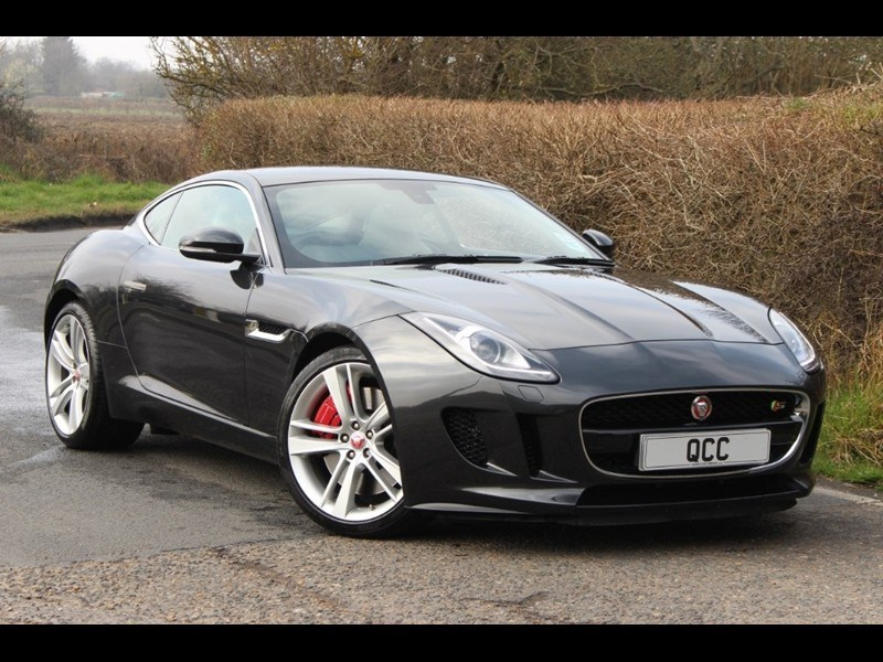 used Jaguar F-Type V6 S SUPERCHARGED COUPE in essex