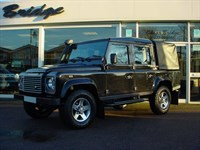 Used Land Rover Defender I D XS Pickup 4WD Double Cab, Air Con Leather.