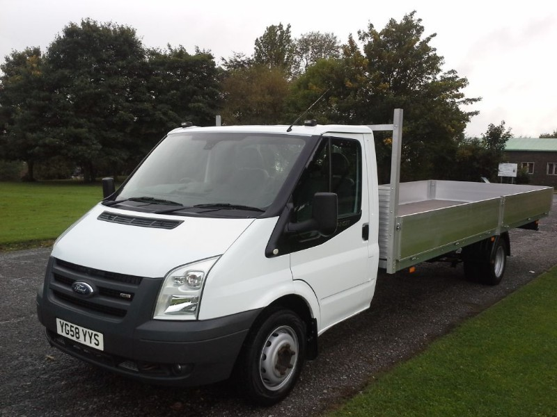 Used Ford Transit 350 140ps 19ft 6ins Dropside Walsall