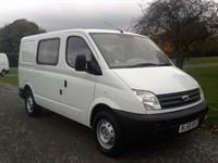 Used LDV Maxus 6 Seat SWB Crew Minibus Splitter Van